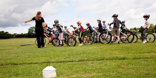 Children and Parents Cycling Session