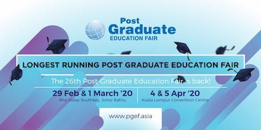 Post Graduate Education Fair 2020 - Mid Valley Southkey