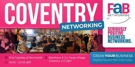 FaB Networking with FindaBiz Coventry tickets