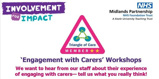 'Engaging with Carers' Workshops