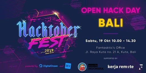 Hacktoberfest - Open Hack Day Bali