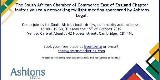 South African Chamber of Commerce - East of England Chapter October '19 CAMBRIDGE