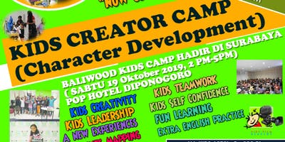 Kids Creator Camp, Surabaya & Multi talent events