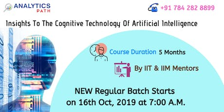 Sign Up For New Regular Batch On AI Training From 16th Oct 2019 @ 7 am tickets