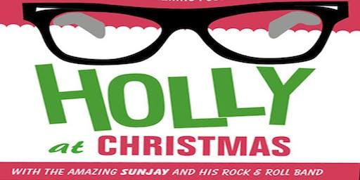 Good Golly, it's Christmas Holly!  Sunjay sings Buddy