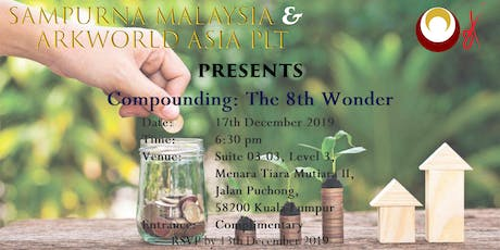 Compounding - The 8th Wonder tickets