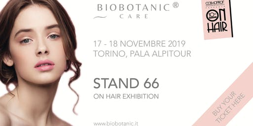 bioBOTANIC CARE | On Hair Exhibition 2019
