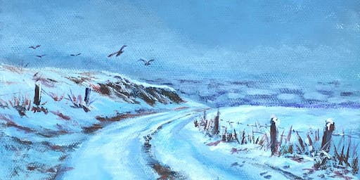 Learn to Draw and Paint - Snowy Landscapes