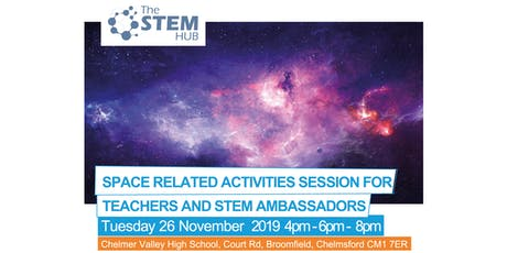 Space Networking Event for Teachers and STEM Ambassadors tickets