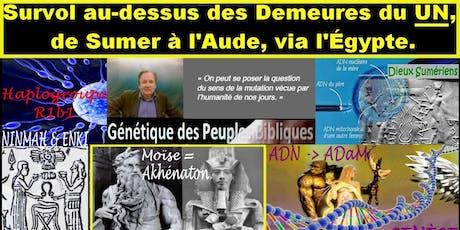 """SURVOL AU-DESSUS DES DEMEURES DU """"UN"""" billets"""