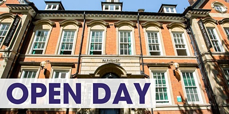 RHACC Open Day 9th January tickets