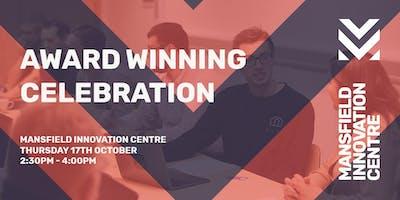 Award Winning Celebration - Nottinghamshire Business Venue of the Year