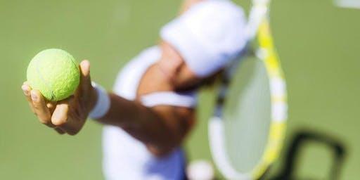 High School Tennis Player and Parent Tennis Night