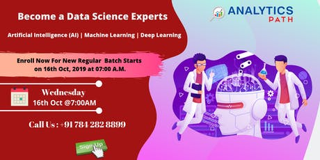 Hurry Up, Register For Data Science New Regular Batch By Experts tickets