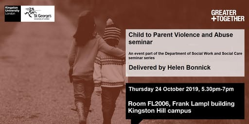 Child to Parent Violence and Abuse  seminar
