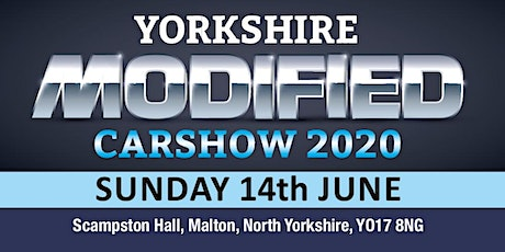 Yorkshire Modified Car Show 2020 (Buy Trading Space) tickets