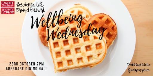 North Campus Wellbeing Wednesday | Dydd Mercher Lles Campws y Gogledd