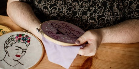 Embroidery Crafternoon Tea Workshop tickets