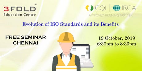 FREE SEMINAR - Evolution of ISO Standards and its Benefits tickets