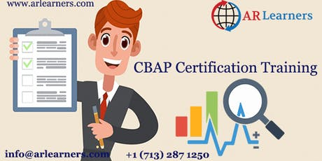 CBAP 3 days Certification Training in Kansas City, MO, USA tickets