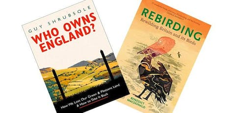 Rewilding Bristol Presents - Who Owns England and Rebirding: a book night.  tickets
