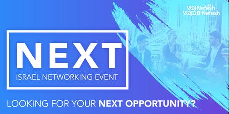 Next: Israel Networking Event tickets