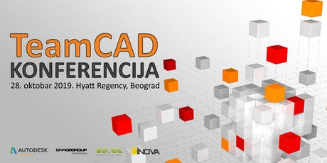 TeamCAD konferencija 2019 tickets