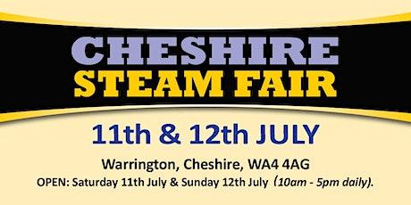 Cheshire Steam Fair 2020 (Public Caravan/Motorhome/Camping) tickets