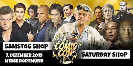 German Comic Con Dortmund 2019 - SAMSTAG Shop Tickets
