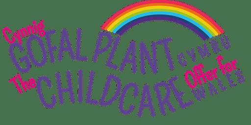 RCT Childcare Offer portal training / Porth Hyfforddiant Cynnig Gofal Plant RhCT