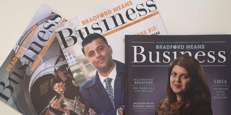 Bradford Means Business - NETWORKING event tickets