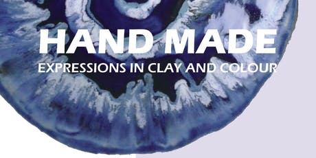 HANDMADE – Expressions in clay and colour tickets