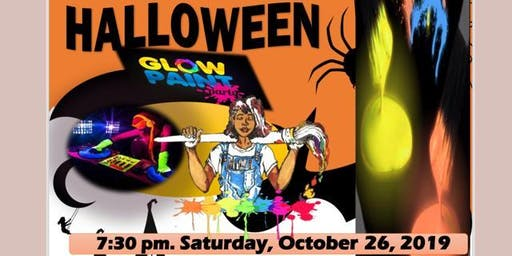 Halloween Glow Paint Party