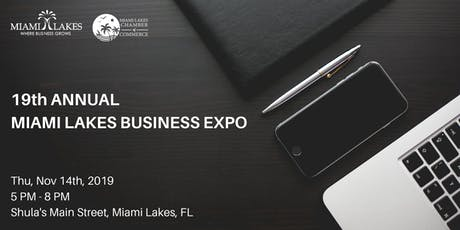 19th Annual Miami Lakes Annual Business Expo tickets