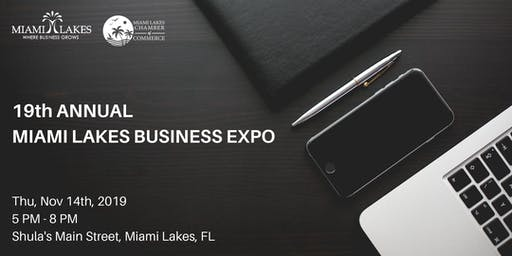 19th Annual Miami Lakes Annual Business Expo