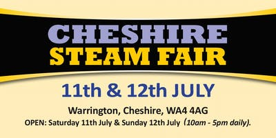 Cheshire Steam Fair 2020 (Buy Trading Space)