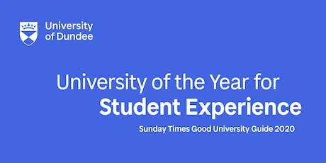 University of Dundee Information Session for Parents and Students tickets