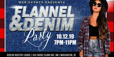 Flannel and Denim Rooftop Party