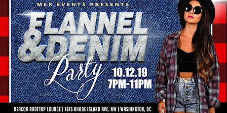 Flannel and Denim Rooftop Party tickets