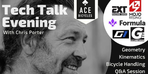 Mountain bike tech talk evening with Chris Porter