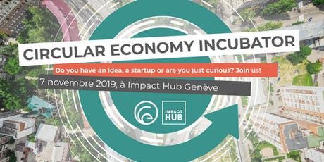 Circular Economy Incubator Launch billets
