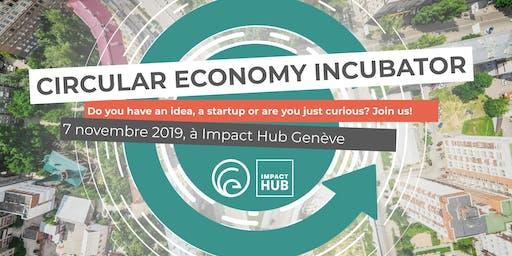 Circular Economy Incubator Launch