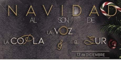 Navidad al Son de La Voz, La Copla y el Sur bilhetes