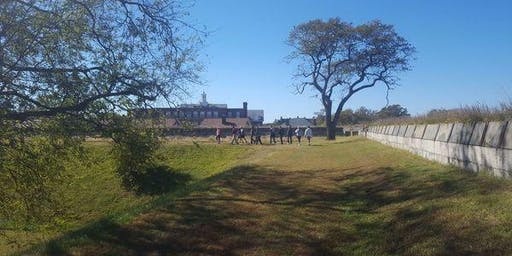Tour Casemate and Hike Ft. Monroe