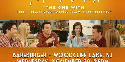 """Friends Trivia """"The One with the Thanksgiving Episodes"""""""