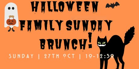 Halloween Family Sunday Brunch, Workshop & Film! tickets