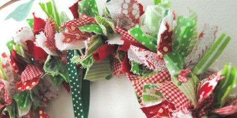 Artisan Market - mini fabric wreath workshop for adult & child