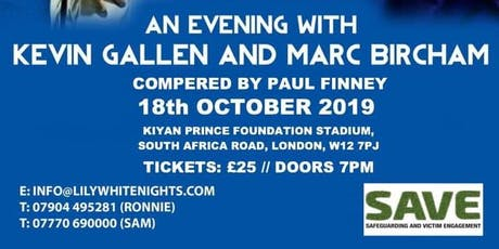 An Evening With QPR Legends KEVIN GALLEN & MARC BIRCHAM tickets