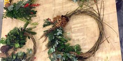 Winter Willow Wreath Workshop