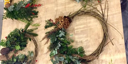 Festive Willow Wreath Workshop